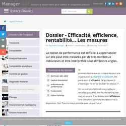 Mesure de la performance d'entreprise : indicateurs et tableaux de bord