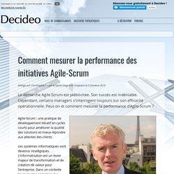 Comment mesurer la performance des initiatives Agile-Scrum