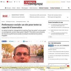 Performance sociale: un site pour tester sa capacité d'innovation