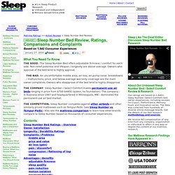Unbiased Sleep Number Bed (Select Comfort) Reviews 2013 : Ratings For Classic, Performance Memory Foam Innovation : c2 c3 c4 p5 p6 i8 i10 m7 m9 : Comparison Complaints : Consumer Reports