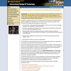 UCF College of Education and Human Performance: Instructional Design & Technology Program