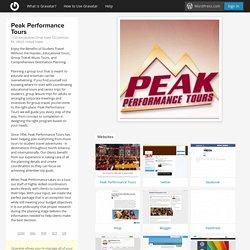 Peak Performance Tours, 1720 Kendarbren Drive Suite 722 Jamison, PA 18929 United States - Gravatar Profile
