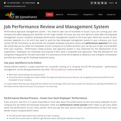 Hire Job Performance Review and Management System Services