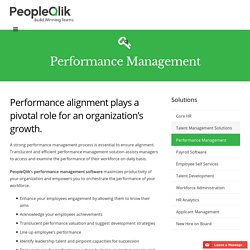 HR Appraisal & Performance Management Software