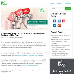 6 Reasons to get a Performance Management Software this Year