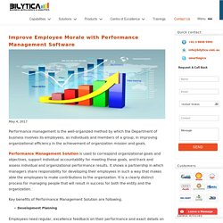 Improve Employee Morale with Performance Management Software