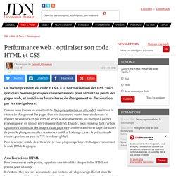 25/02/14 - Performance web : optimiser son code HTML et CSS