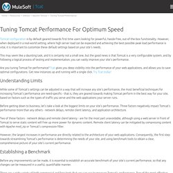 Tuning Tomcat Performance For Optimum Speed - A Step-By-Step Guide