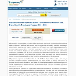 High-performance Polyamides Market - Global Industry Analysis by 2024