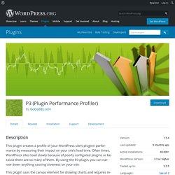 P3 (Plugin Performance Profiler)