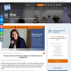 Progrès social et performance publique : de l'ambition pour la politique RH