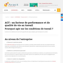 ACT, facteur de performance