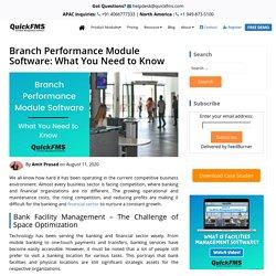 Branch Performance Module Software - Free Demo