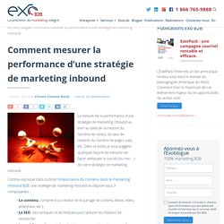 Comment mesurer la performance d'une stratégie de marketing inbound