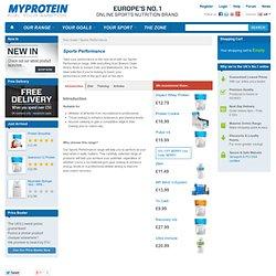 Endurance - Goals | Myprotein