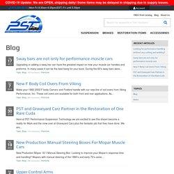 Performance Suspension Technology