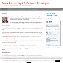 Centre for Learning & Performance Technologies
