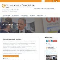 Performance qualité et traçabilité -