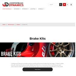 Automobile Performance Brake Kits