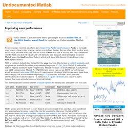 Improving save performance