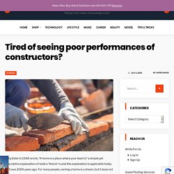 Tired of seeing poor performances of constructors - Brick pointing services Brooklyn