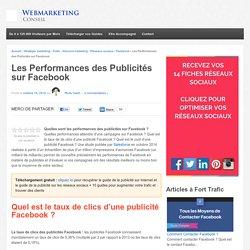 ▶ Les Performances des Publicités sur Facebook