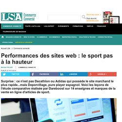 Performances des sites web : le sport pas à...
