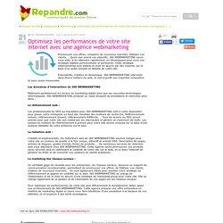 Optimisez les performances de votre site internet avec une agence webmarketing