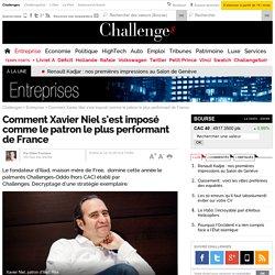 Comment Xavier Niel s'est imposé comme le patron le plus performant de France