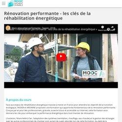 Rénovation performante - les clés de la réhabilitation énergétique