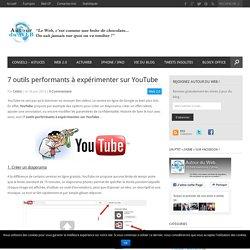 7 outils performants à expérimenter sur YouTube