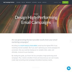 Design High-Performing Email Campaigns
