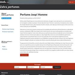 Perfume Joop! Homme by Zahra_perfumes