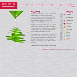 Perfume Lab - Create your very own perfume