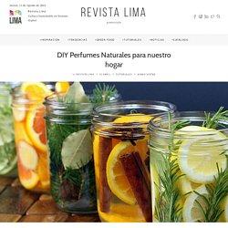 DIY Perfumes Naturales para nuestro hogar – Revista Lima