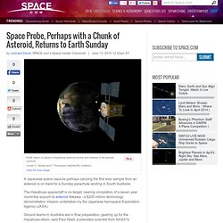 Chunk of Asteroid, Returns to Earth