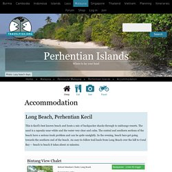 32 Perhentian Islands guesthouses and hotels - Travelfish.org.