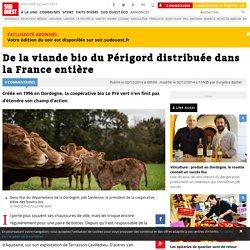 SUD OUEST 02/12/14 De la viande bio du Périgord distribuée dans la France entière