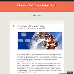 A Random Walk Through Geek-Space