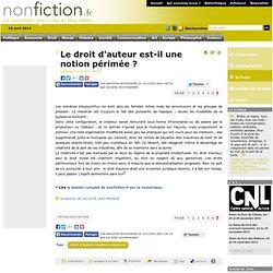 Le droit d'auteur est-il une notion périmée ? - Nonfiction.fr le