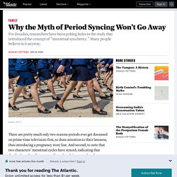 Period-Syncing Almost Definitely Isn't Real