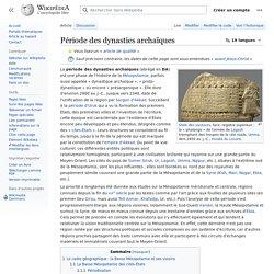 Période des dynasties archaïques