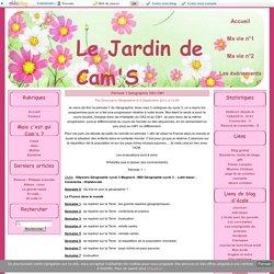 Période 1 Géographie CE2 CM1 - Le Jardin de Cam'S