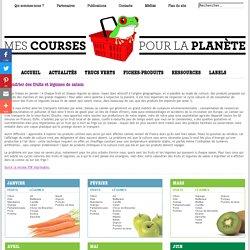 Périodes de récolte et de consommation des légumes et fruits de saison en France