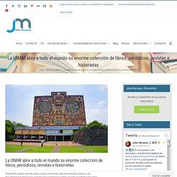La UNAM abre a todo el mundo su enorme colección de libros, periódicos, revistas e historietas