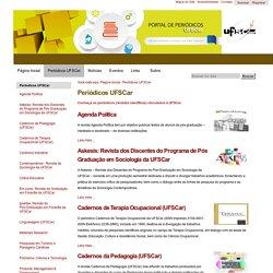 Periódicos UFSCar — Portal de Periódicos UFSCar