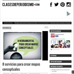 8 servicios para crear mapas conceptuales