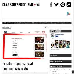 Crea tu propio especial multimedia con Wix
