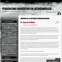 Periodismo narrativo en Latinoamérica