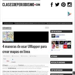 4 maneras de usar UMapper para crear mapas en línea